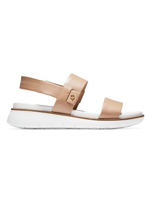 Cole Haan zerogrand global leather sport sandals