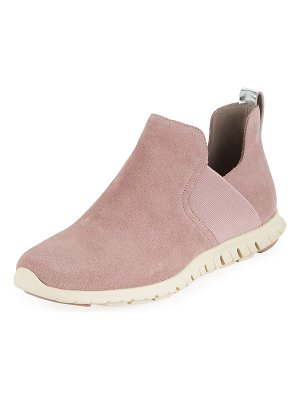 Cole Haan Zerogrand Suede Slip-On Sneakers