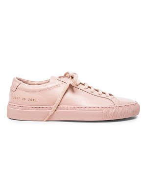 Common Projects Original Leather Achilles Low