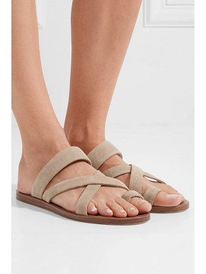 Common Projects suede sandals