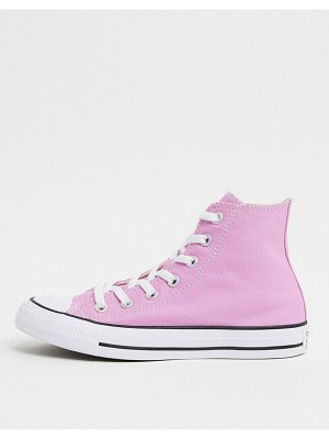 Converse chuck taylor all star hi pink sneakers