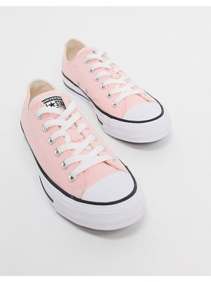 Converse chuck taylor all star ox pale pink sneakers