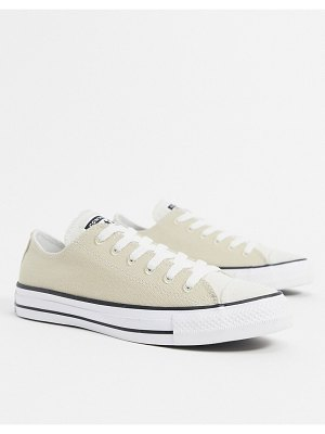 Converse chuck taylor all star ox renew sneakers in beige