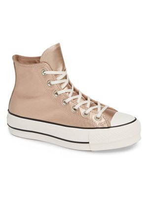 Converse chuck taylor all star platform high top sneaker