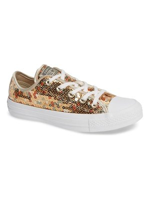 Converse chuck taylor all star sequin low top sneaker