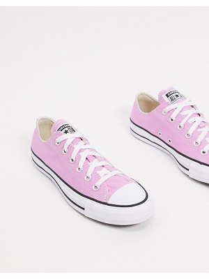 Converse chuck taylor ox pink sneakers