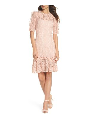 COOPER ST Hushed Dove Lace Dress