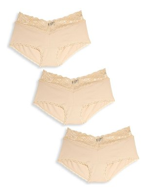 Cosabella 3-pack lace-trim brief set
