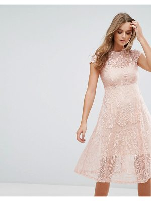 COTTON CANDY LA Lace Midi Dress