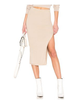 COTTON CITIZEN Melbourne Midi Skirt With Slit
