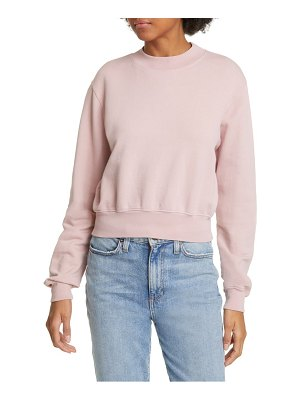 COTTON CITIZEN milan tie dye crop sweatshirt
