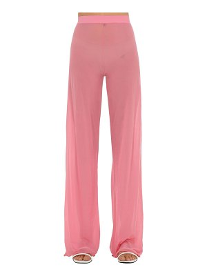 Courreges Gerbe sheer stretch flared pants