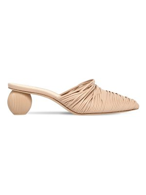 Cult Gaia 50mm pia leather mules