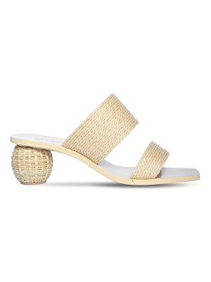 Cult Gaia 55mm jila faux raffia sandals
