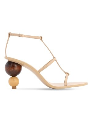 Cult Gaia 85mm eden heel leather sandals