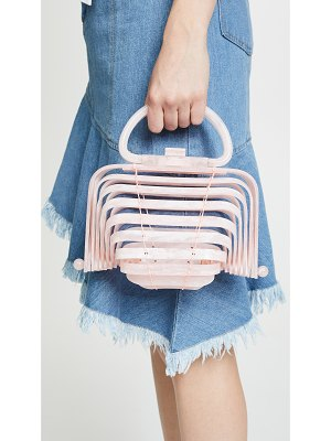 Cult Gaia acrylic lilleth clutch