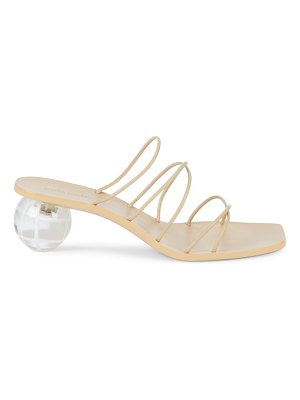 Cult Gaia cassie bauble-heel leather mules