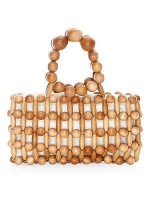 Cult Gaia cora beaded clutch