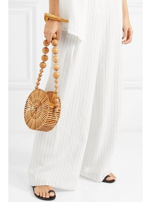 Cult Gaia luna bamboo shoulder bag