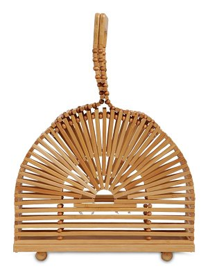 Cult Gaia Mini cupola bamboo bag