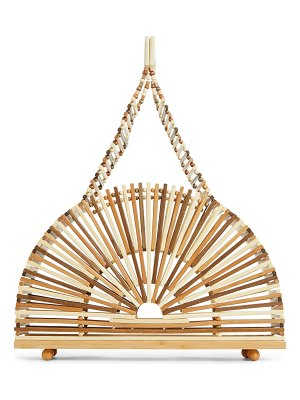 Cult Gaia small dome bamboo handbag
