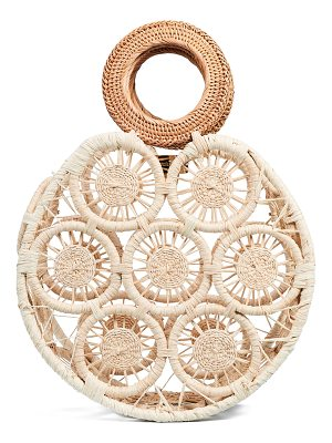 Cult Gaia small round straw bag