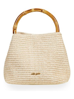 Cult Gaia Solene Mini Bamboo Satchel Bag