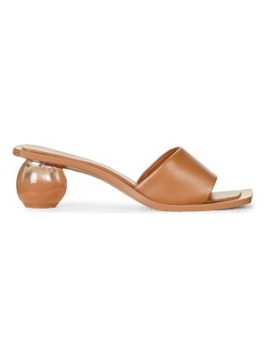 Cult Gaia tao ombré bauble-heel leather mules