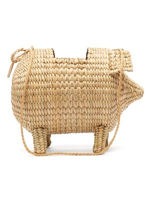 Cult Gaia the babe bamboo cross body bag