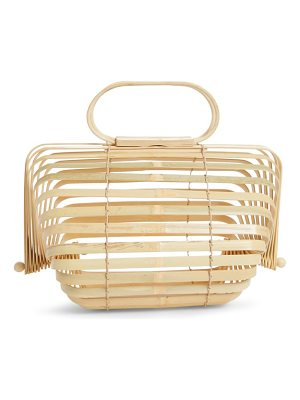 Cult Gaia the lilleth bamboo handbag