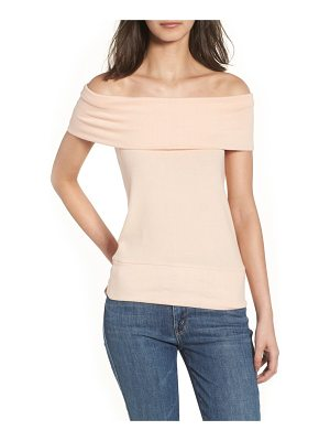 cupcakes and cashmere cathie off the shoulder top