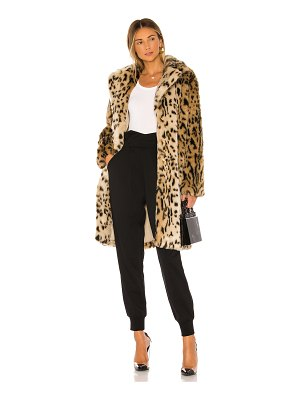 cupcakes and cashmere jericho faux fur coat