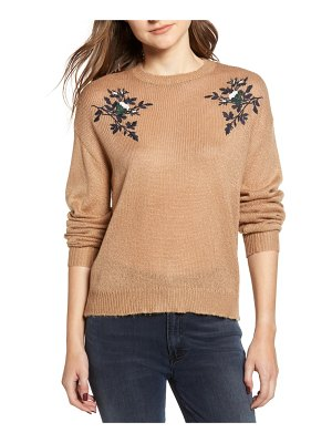 cupcakes and cashmere kobi embroidered sweater