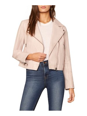 cupcakes and cashmere melody faux leather jacket