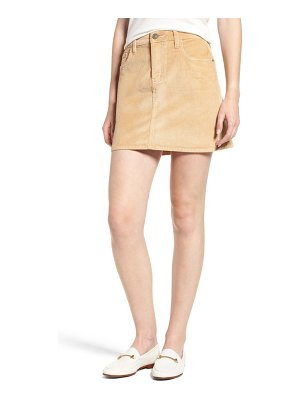 Current/Elliott corduroy miniskirt