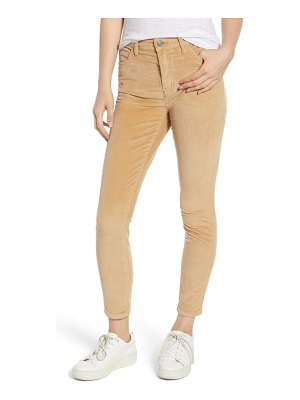 Current/Elliott the stiletto high waist ankle corduroy pants