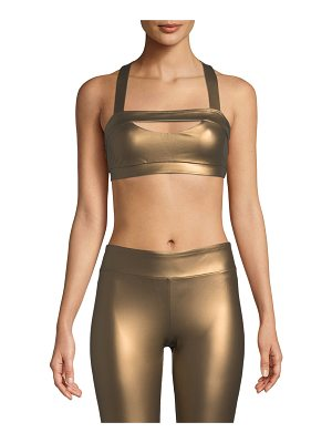 Cushnie et Ochs Georgina Cross-Back Sports Bra