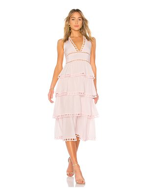 Cynthia Rowley Postcard Midi Dress