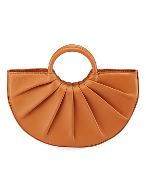 D LY P Bender Mini Pleated Calfskin Tote Bag