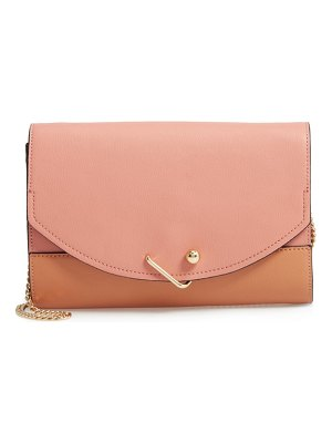 Danielle Nicole easton colorblock leather clutch