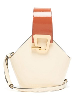 Danse Lente johnny mini patent leather bucket bag
