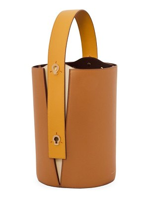 Danse Lente mini lorna leather bucket bag