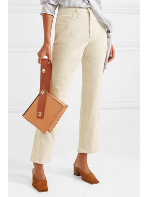 Danse Lente zoe leather clutch