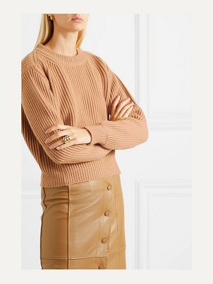 DAUGHTER &inver ribbed merino wool and cashmere-blend sweater