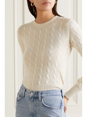 DAUGHTER &nora cable-knit cashmere sweater