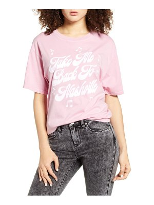 Day take me back to nashville graphic tee