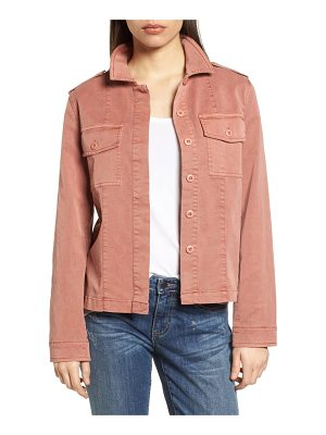 DEAR JOHN DENIM Shoulder Tab Cargo Jacket