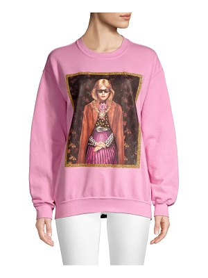 Delfi Collective delfi girl graphic sweatshirt