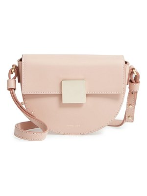 DeMellier mini oslo leather shoulder bag