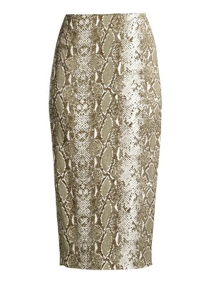 Diane Von Furstenberg kara printed pencil skirt